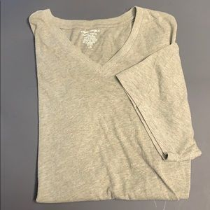 Banana Republic Large Heather Olive V Neck!